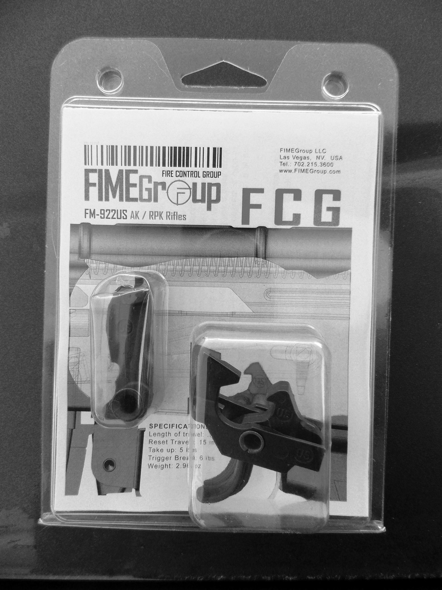 FIME Group FCG AK Trigger in clamshell packaging